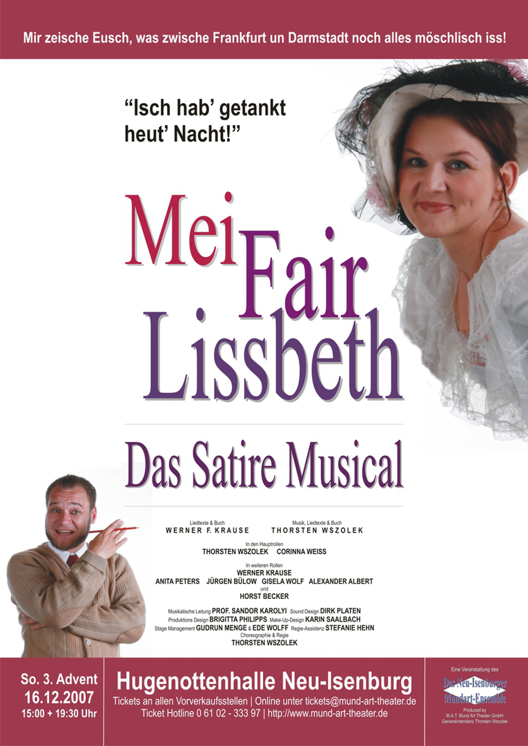 Mei Fair Lissbeth Mund Art Theater - Thorsten Wszolek